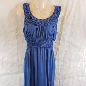 Max Studio Blue Dress XS